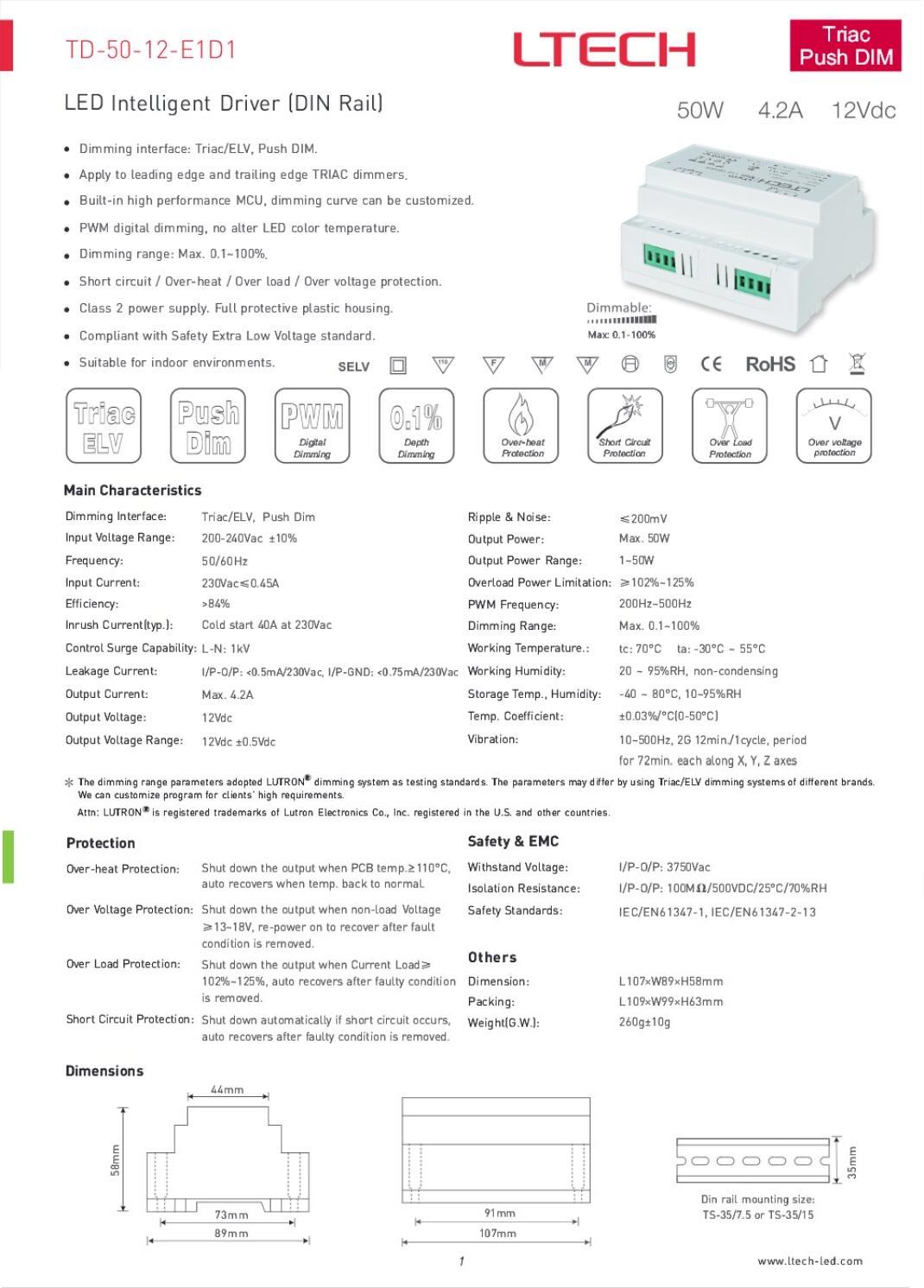 50W_12VDC_CV_Triac_LED_Driver_TD_50_12_E1D1_1
