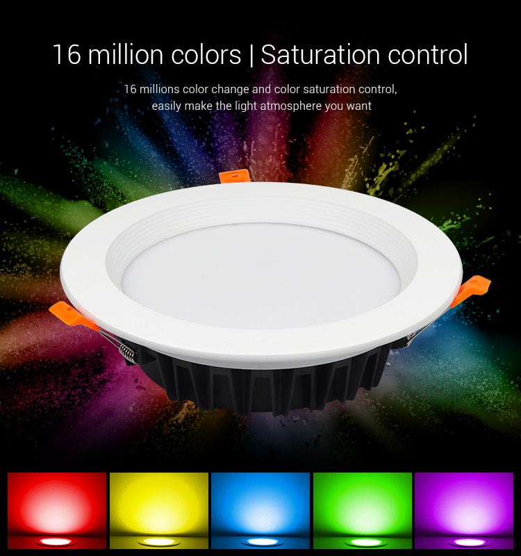 AC100_240V_MiLight_FUT060_25W_RGB_CCT_LED_Downlight_5