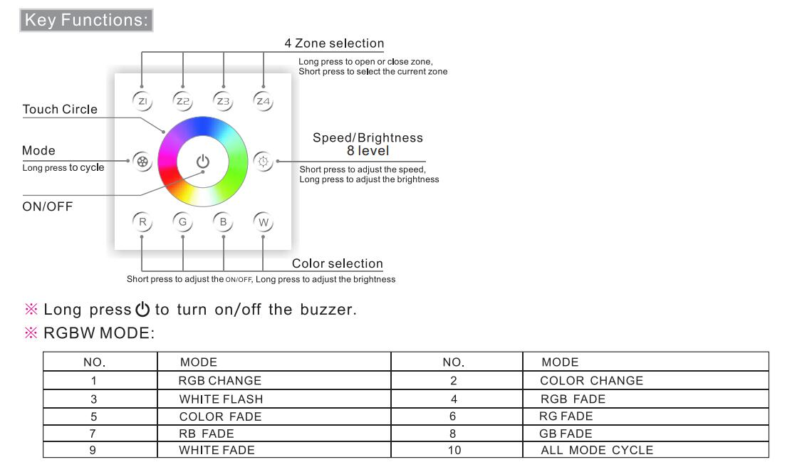 Bincolor_Controller_P8X_R4_2.4G_5