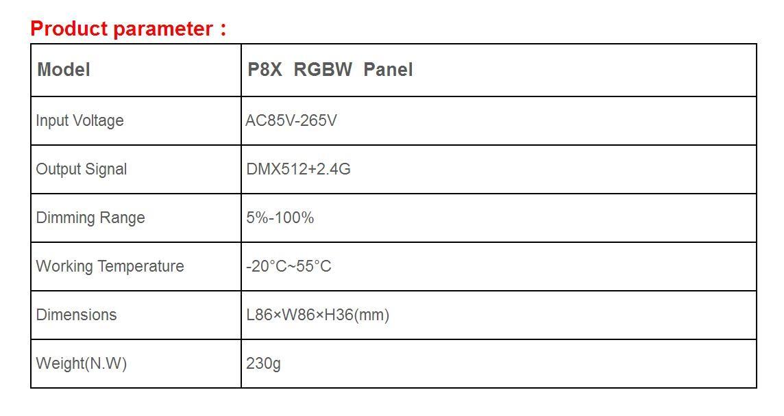 Bincolor_Controller_P8X_R4_CC_2.4G_1