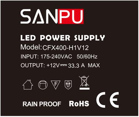 CFX400_H1V12_SANPU_LED_Power_Supply_12VDC_3