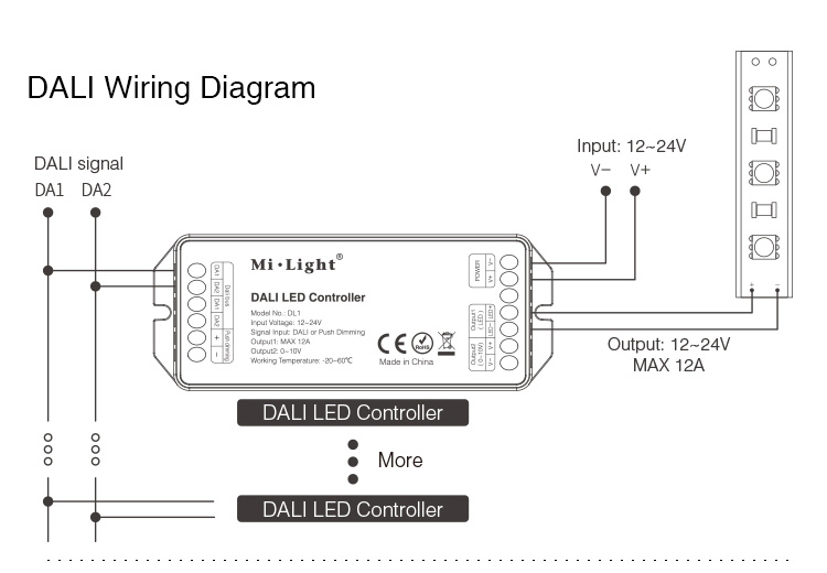 DC12_24V_MiLight_DL1_DALI_Power_Saving_And_Smart_LED_Controller_11