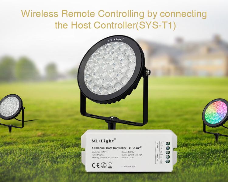 DC24V_MiLight_SYS_RC2_15W_RGB_CCT_LED_Garden_Light_Subordinate_Lamp_4