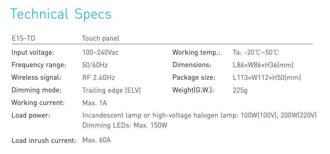 E1STD_Touch_Panel_Dimming_RF_Wireless_Wiring_4