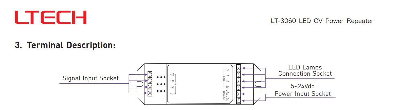 LTECH_LED_Controller_LT_3060_3