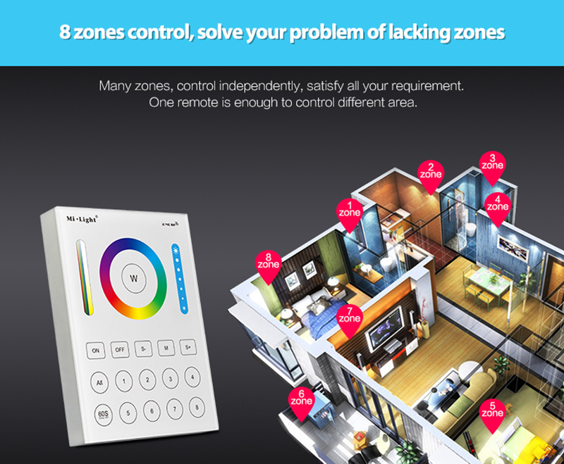 Led_controller_dimmer_Milight_controller_B8_8Zone_4