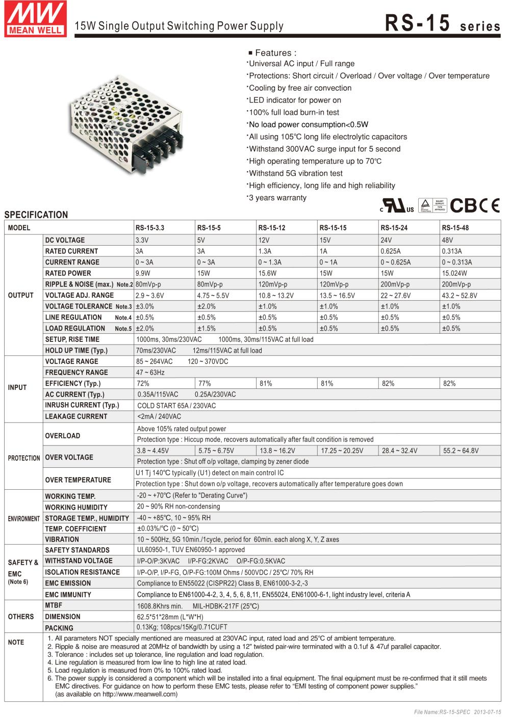 MEANWELL_POWER_SUPPLY_HOT_SELLING_RS_15_5_2