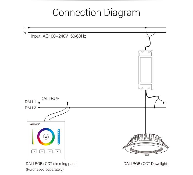 Mi_Light_DL_DOW25_DALI_25W_RGB_CCT_Dimming_Panel_LED_Downlight_11