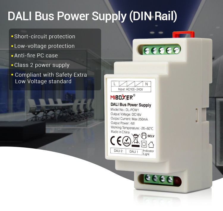 Mi_Light_DL_POW1_DC16V_4W_DALI_Bus_Power_Supply_DIN_Rail_1