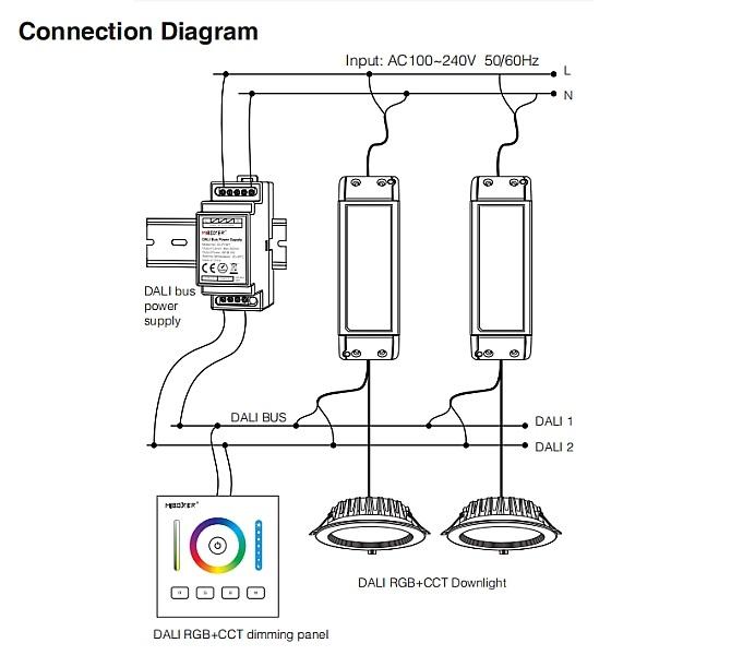 Mi_Light_DL_POW1_DC16V_4W_DALI_Bus_Power_Supply_DIN_Rail_6