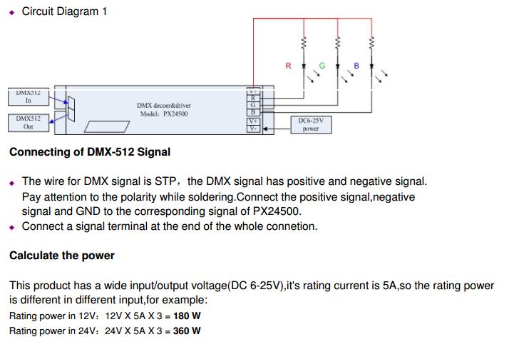 PX24500_DMX512_Decoder_5