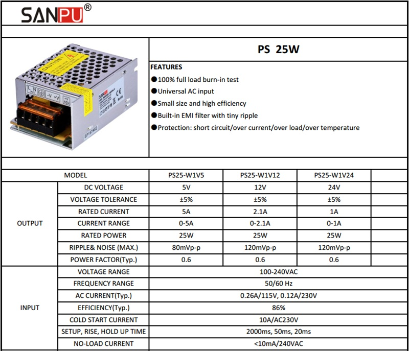 SANPU_EMC_EMI_EMS_SMPS_12VDC_Switching_4
