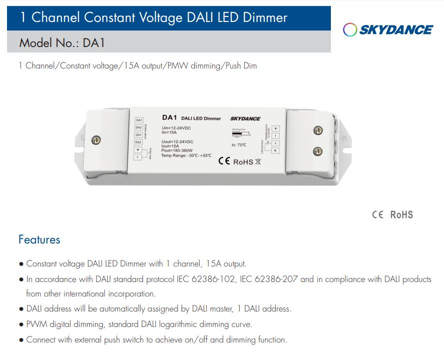 Skydance_DA1_Led_Controller_1