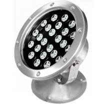 24W IP68 Waterproof Led Underwater Pond Light Pool Fountain Submersible Spotlight Lamp