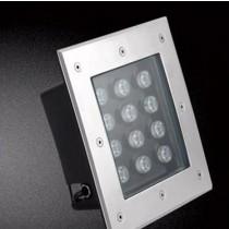 12W LED Underground Light Square Inground Deck Wall Floor Landscape Lamp