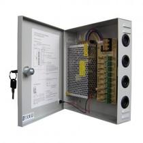 360W 30A 18CH DC 12V Output Switch Mode CCTV Distribution Box Portable Power Supply