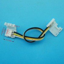 3pin Fast Connector For Width 8mm Color Temperature Strip WS2811 Ws2812b Led Lights 30pcs