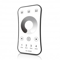 4 Zones RF 2.4G LED Dimming Remote R6 For Single Color LED Lamps