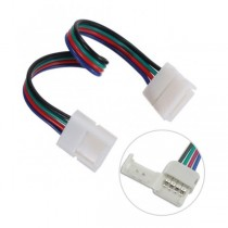 4Pin RGB LED Strip Lights Fast Conector 15cm 15pcs