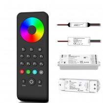 5050 RGBW LED Light Controller 4CH 2.4GHz 4IN1 Strip 12V 24V 36V