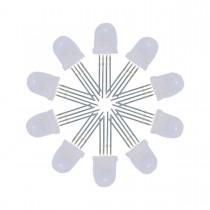 50Pcs RGB LED Bead IC Built-IN APA106 5mm/8mm F5/F8 LED Chip 5V (F8 8mm)