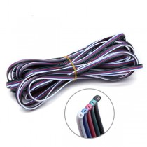 5pin RGBW Power Wire Cable 0.5mm Copper Core 1meter by sale 20pcs