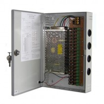 60W 5A 9CH DC 12V Output Switch Mode CCTV Box Power Supply