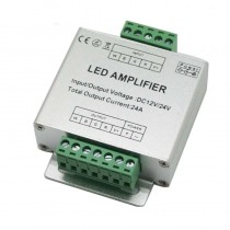 RGBW LED Amplifier Aluminum shell 4CH Controller DC12V 24A