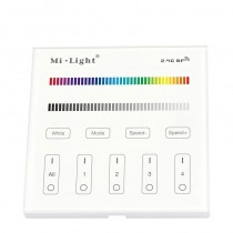 T3 Panel Sensitive Touching Remote Controller for LED Strip Light 4 Zone