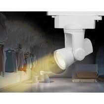 AL2 Mi.Light 25W Dual White LED Auto Track Light Downlight 2-wire Alpha Lite Tracking Lamp