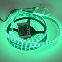 Black PCB 5050 RGB Double Row Led Strip Light 120LED/M DC12V Waterproof