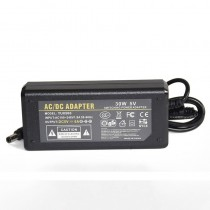 EU Plug AC110V 220V to DC 5V 6A Power Adapter 30W LED Transformer