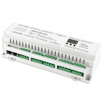 BC-624-DIN Bincolor Led Controller 24CH DMX512 Decoder Driver Control