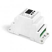 BC-831-DIN Bincolor Led Controller DIN Rail DMX512 Decoder Digital Tube Display