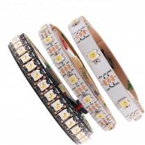 DC 5V 5m Addressable SK6812 LED Strip WWA 30/60/96/144 LEDs/Pixles/m