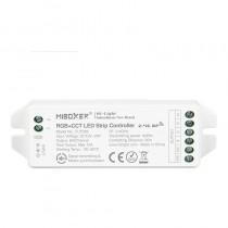 FUT039 DC12-24V RGB+CCT LED Strip Light Controller 2.4G App DMX512 Control