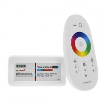 DC 12V 24V 24A LED RGBW Controller With WIFI Hub 2.4GHz RF Touch Remote