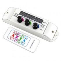 BC-350RF Bincolor Led Controller 12v-24v 3CH Display 3CH Rotary Remote Control