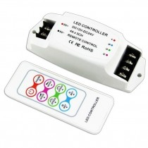 Bincolor BC-361-4A Led Controller 12V-24V with RF Remote Wireless Control