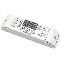 Bincolor Led Controller BC-834-PWM 5V 10V 3-Digital-Display 4CH DMX512 Control