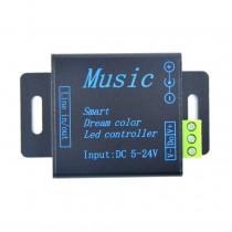 DC5V 24V 250 Pixels Music Controller Signal Amplifiler For WS2811 WS2812B