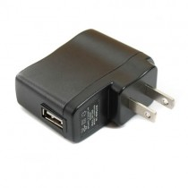 DC 5V USB Wall Charger Plastic Shell Power Supply Adapter 5Pcs
