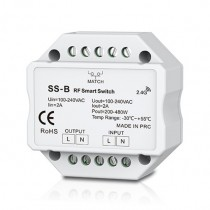 100-240VAC Triac RF Dimmer SS-B 2.4GHz Wireless WiFi-Relay Controller For Led Strip Light