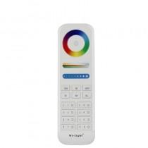 Button Touch 2.4GHz Controller FUT089 8-Zone RGB+CCT Remote Control