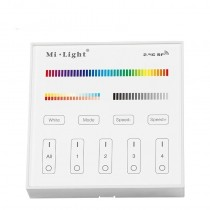 B4 Panel Sensitive Touch Remote Controller for Single Color CCT RGB RGBW RGB+CCT Light