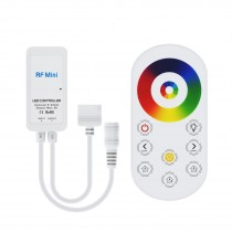 Excell RF Touch 5 PIN RGBW Controller RGB+White LED Lights Adjust Speed Brightness
