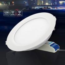 Milight FUT066 12W RGB CCT LED Downlight Wifi Control Lamp Ceiling Light