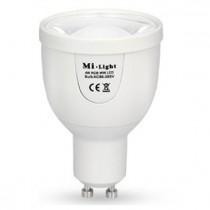 GU10 5W RGBW Lamp Milight Bulb light+Wireless WiFi Remote Controller Box