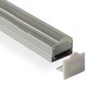 1M Led Raised Recessed Extruded Aluminum Channel 20pcs
