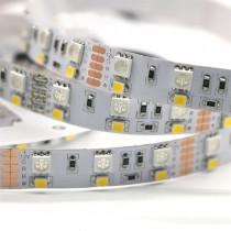 Dual Row RGBW DC 12v 3528 5050 600LEDs LED Strip 16.4ft